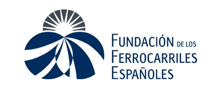Logo Fundación de los Ferrocarriles Españoles.