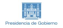 Presidencia de Gobierno.