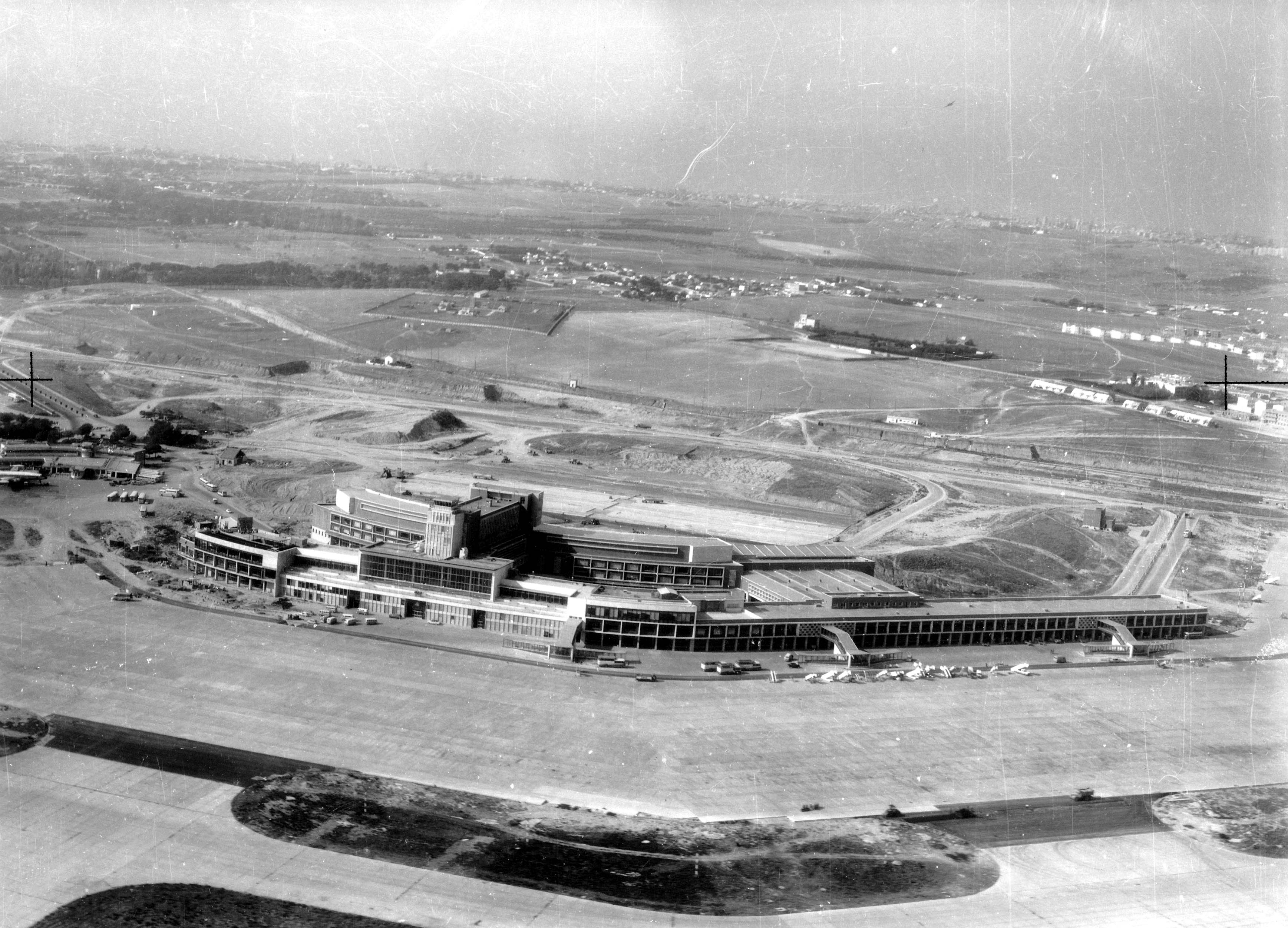 Foto del aeropuerto de Madrid-Barajas  Terminal T2 1962