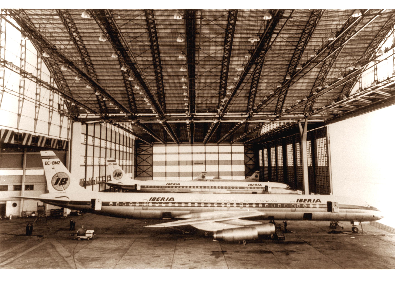 Foto del Douglas  DC-8 de Iberia