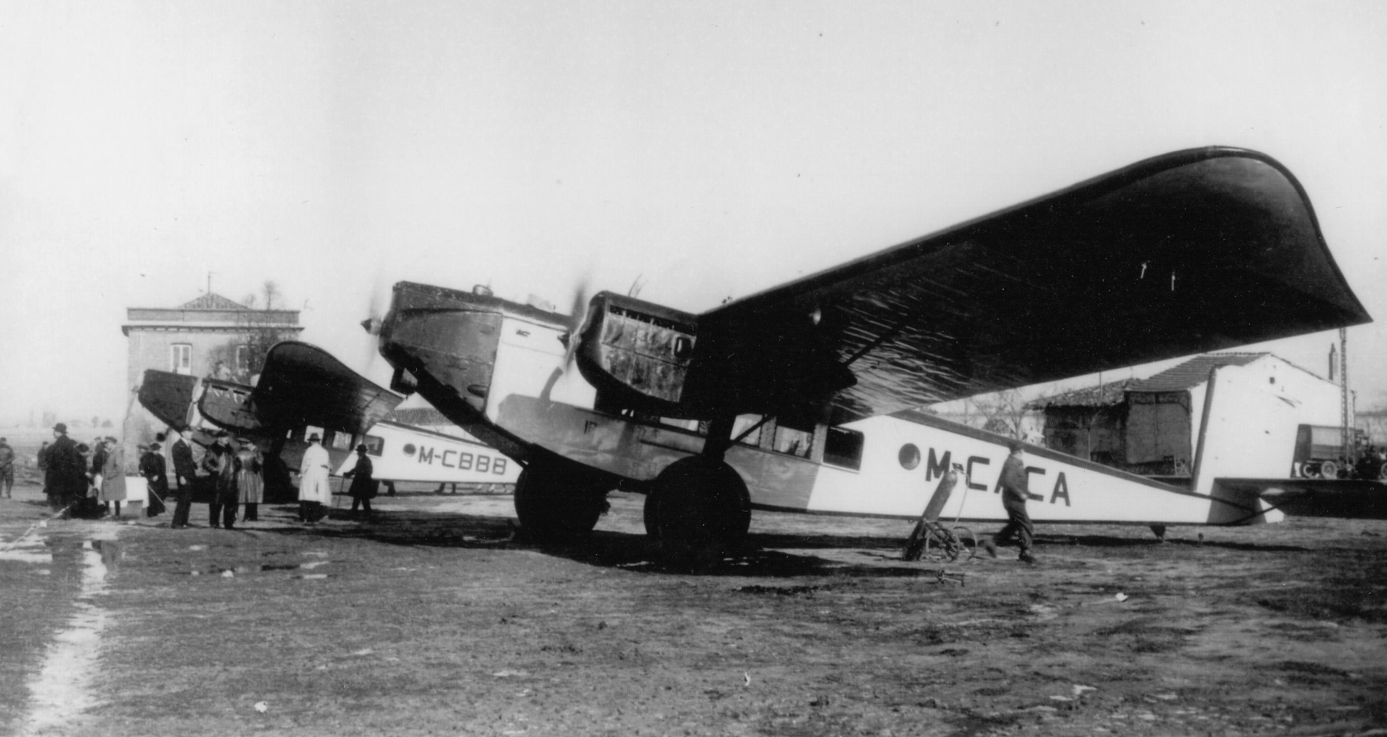 Primeros 2 aviones de IBERIA Rohrbach
