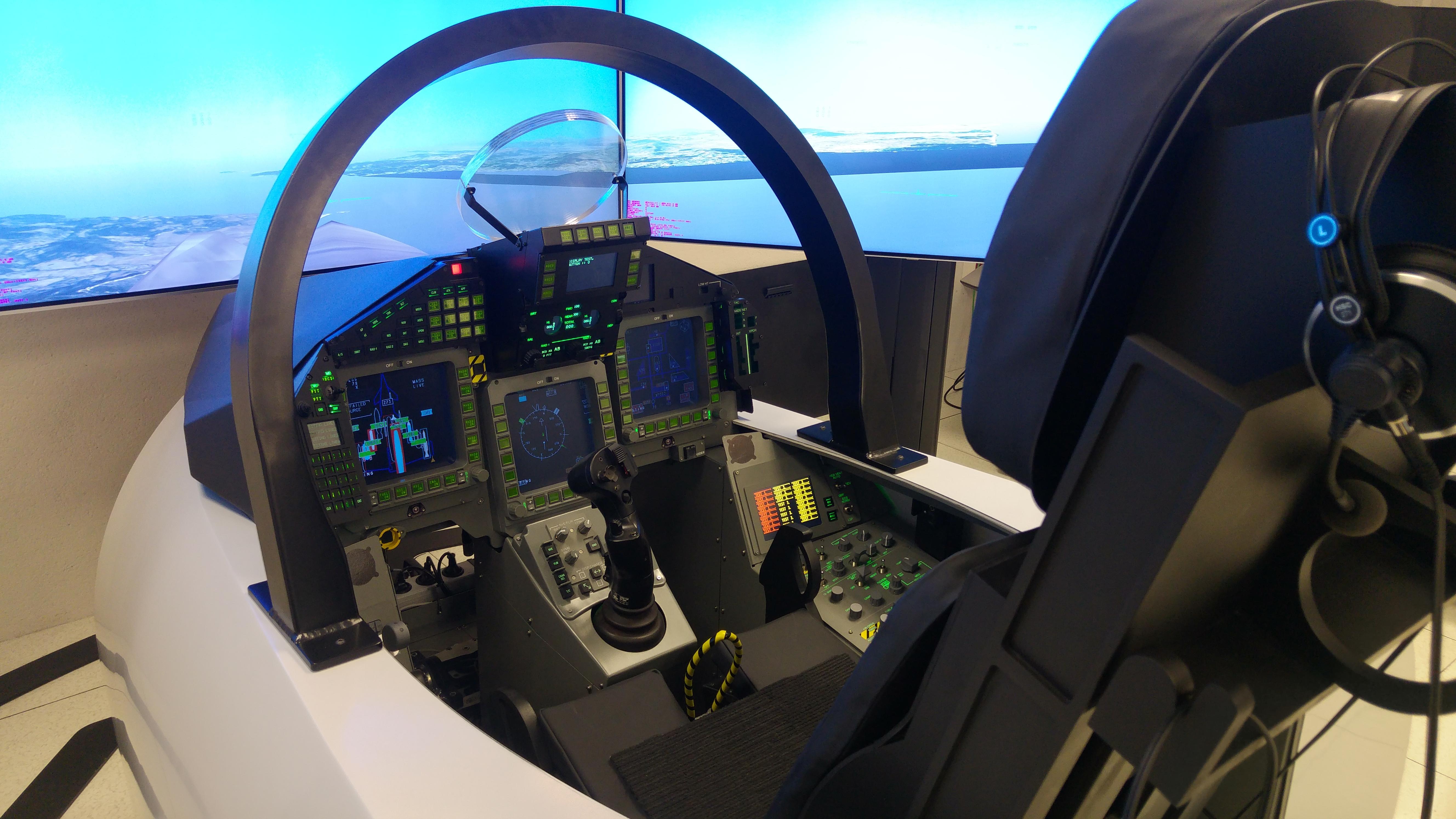 Simulador Eurofighter
