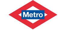 Logo Metro Madrid.