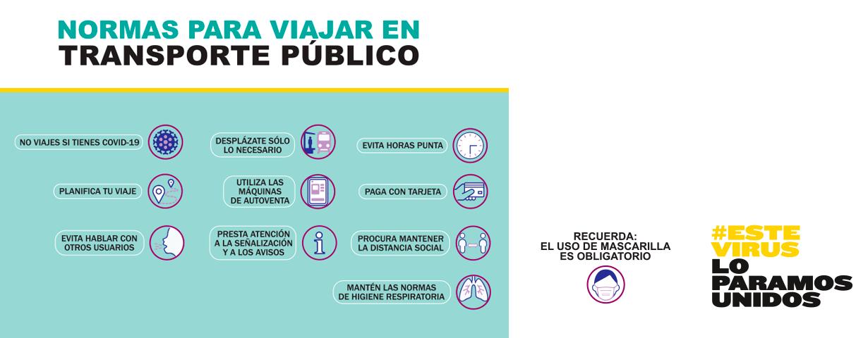 imagen del carrusel de la portada del Ministerio de Transportes, Movilidad y Agenda Urbana.