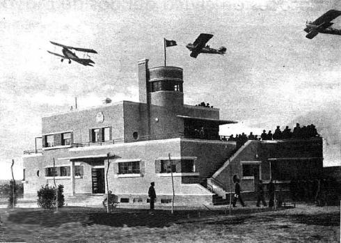 Foto del aeropuerto de Madrid-Barajas 1931