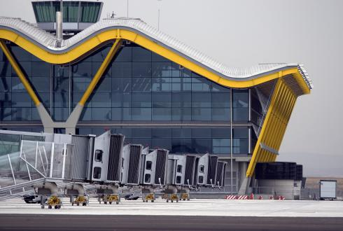 Plataformas de embarque aeropuerto Madrid-Barajas