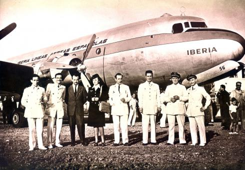 Vuelo inaugural Madrid-Buenos Aires