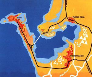 Mapa de la Bahía